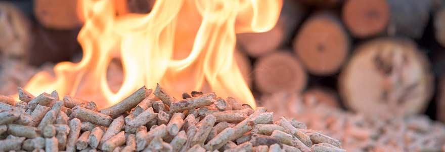 bois de chauffage granulés de bois