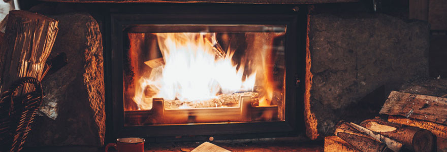 installation de chauffage à bois